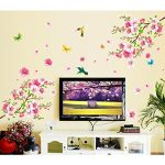 Decals Design 'Flowers Branch' Wall Sticker