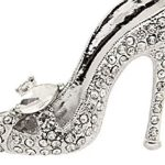 Womens Ladies Crystal Rhinestone High Heel Princess Shoes