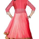 S R Fashion Girl's Rasal Net Lehenga Choli With Dupatta(Multi Color, 8-11 Years PPK)